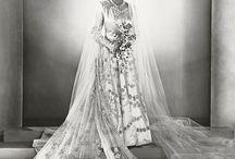 Beautiful Royal Princess Elizabeth on her Wedding Day