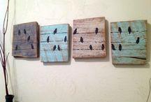 decoração em madeira