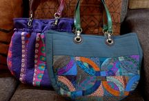 Bags for fun / Bags etc to make.  / by Wendy Roberts