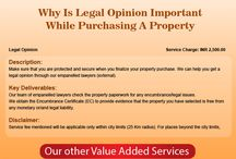 Value Added Services for Property / Check documentation for your property