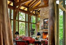 interier - drevo