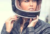 Biker chick...!