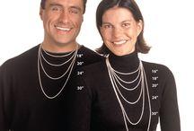 medidas para collares. femenino & hombre