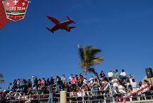 Mazatlán 2011 / Un evento Aéreo masivo en el malecón de Mazatlán. Sinaloa. Mx.   El equipo de Flyers Team se dio a la tarea de presentarse así como el realizar las tareas  de dirección y operaciones aéreas para el evento, en donde se presentaron 35,000 asistentes que vivieron la emoción y la adrenalina en cada una de las acrobacias realizadas por los pilotos expertos de Flyers Team.