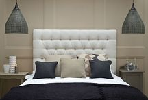 Marvellous Monochrome Ideas / Idea's on how to use monochrome themes in the bedroom.