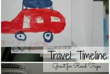 Keeping kids busy during travel