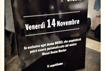 Diesel denim master studio / Evento in store