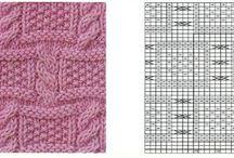 KNITTING: patterns, tutorial & ideas 1