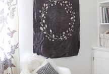 things we love for the home / Batik, dyed and handmade inspiration for cozy homes