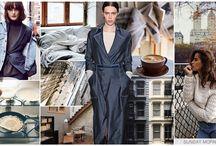TREND AUTUMN/WINTER 2018 / fashion // autumn 2017 // fall 2017 // trend // colour // print // pattern // design // inspiration // womenswear