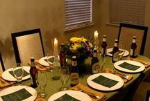 Irish dinner party