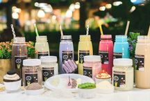 DARK MATCHA / Bubuk minuman bubble drink lebih dari 60 pilihan rasa & bubuk silky pudding ala PUY0+ topping ala cafe