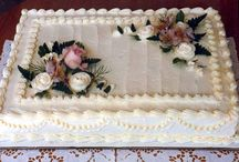 Sheet cakes decorated