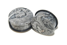 Stone Plugs / Gorgeous plugs forged from various types of stone!