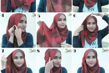 How 2 wear hijab