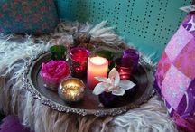Bohemian Rhapsody / Home decorating with a global, gypsy, hippie flair to it.