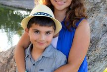 Family and Holiday Photos / There are so many places to take a family photo at Santee Lakes!