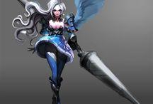 Lancer - Female - Anime