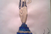 My fashion design / My Drawings