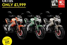 Promotions / Latest ride away deals (check www.kymco.co.uk for terms and conditions)