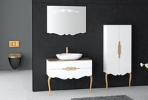 banyo ve lavabo dolap ve tasarımlar