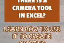 excel camera tool