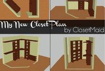 Closet make over