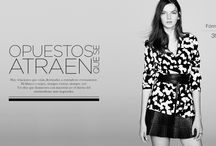 Opuestos que se atraen / #Fashion #Women #Black&White / by El Corte Inglés