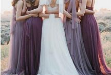 Bridesmaids ideas and colours