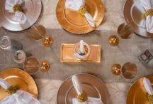 Tablescapes / Inspiration for beautiful weddings at Walden Hall