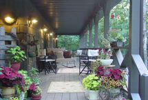 Front porches to retire to