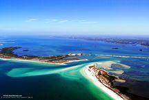 Aerials of Clearwater Beach / Aerials of Clearwater Beach and Sand Key just to the south