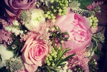 Colours (Pink Wedding Flowers) / Vintage inspired wedding flowers, designed and created by www.bijouxfloral.co.uk