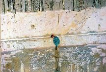 Peter Doig / My muse.