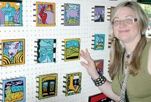Press & Publicity / News Features and Press for Anne Leuck Feldhaus Studio