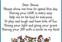 Preschool prayer