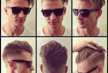 Men haircuts and styling / Fahion, hairstyle
