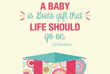 Thirty-One Babies & Kiddos / For the mommas who have it all together... or just look like you do. :) / by Heather Wamble