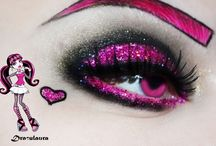 themed hair makeup
