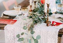 Hochzeitsdeko - Tischdekoration