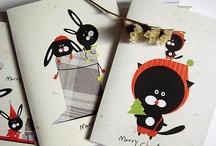 Xmas Card Ideas / by Maria King