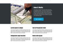 responsive internet marketing landing pages