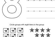 Numbers Worksheets Kindergarten - Preschool