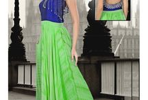 Gorgeous Gowns / New trendy fashion for women is Gowns a blend of ethnic and modern looks.