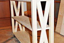 Консольный столик // Tables / Столик своими руками