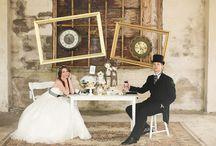 Alice in Wunderland inspirierte Hochzeit / Hochzeit Alice im Wunderland