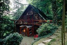 tree houses, sheds etc