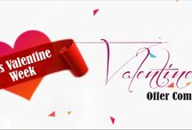 Valentine Day Offer`s / Valentine day just Around a Corner Be ready for Shopping with Top Valentine Week Offer