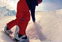 Snowboarding... / by Peter Skowron
