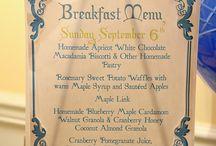 Bed and breakfast ontbijt ideeen